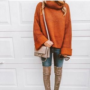 Goodnight Macaroon cable knit sweater. NWT!